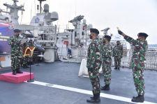 Dua Jabatan Komandan KRI Jajaran Satkor Koarmada II Diserahterimakan - JPNN.com