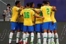 12 Anggota Skuadnya Positif Covid-19, Venezuela Porak-poranda di Tangan Brasil - JPNN.com