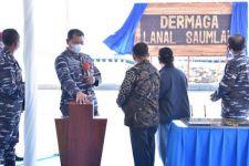 KSAL Laksamana Yudo Resmikan Dermaga Lanal Saumlaki - JPNN.com