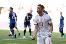 EURO 2020: Ferran Torres Minta Maaf Kepada Lewandowski, Kenapa ya? - JPNN.com