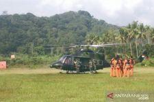 2 Helikopter Bell 412/EP Dikerahkan, Senjata AP M80 Gatling Gun Digunakan - JPNN.com