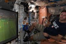 Kisah Astronaut Prancis Nonton EURO 2020 Sambil Melayang - JPNN.com