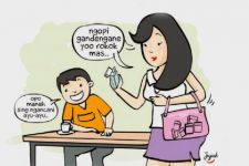 Ibu Rumah Tangga Jadi SPG Rokok, Sering Disentuh Cowok - JPNN.com