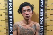 Lihat Tampang Arifin yang Bonyok Dihajar Warga Surabaya Usai Tepergok Mencuri Motor - JPNN.com