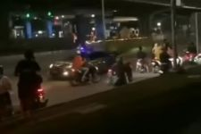 Bubarkan Balap Liar di Jaksel, Anggota Polri Diserang Geng Motor - JPNN.com