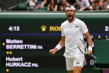 Wimbledon: Berrettini Ukir Sejarah Italia, Djokovic ke Final, Ada yang Menangis - JPNN.com