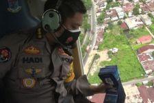 Polda Sumut Kerahkan Helikopter untuk Sosialisasi PPKM Darurat di Kota Medan, Lihat - JPNN.com