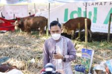 Crazy Rich Malang Bagi-bagi Daging Kurban di 6 Kota - JPNN.com