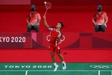 Mantap! Anthony Ginting Pastikan Satu Tempat di Perempat Final Tokyo 2020 - JPNN.com
