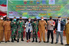 TNI Polri dan Yayasan Marianna Gelar Serbuan Vaksinasi Covid-19 di Samosir - JPNN.com