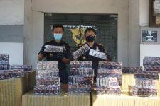 Bea Cukai Gresik Menyita 560 Ribu Batang Rokok Ilegal dalam 2 Penindakan - JPNN.com