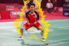 Menjelang Laga Versus Chen Long, Tubuh Anthony Ginting Dikelilingi Api, Waduh! - JPNN.com