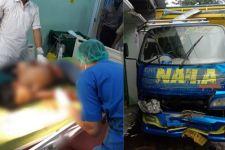 Hilang Kendali, Truk Hantam Rumah dan Warung, Seorang Pelajar Terluka - JPNN.com