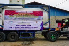 Pupuk Indonesia Salurkan Bantuan Oksigen Sebanyak 286 Ton ke Berbagai Daerah - JPNN.com
