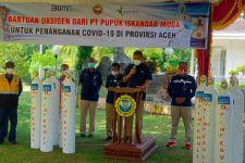 PT Pupuk Iskandar Muda Salurkan Oksigen untuk Bantu Penanganan Covid-19 di Provinsi Aceh - JPNN.com