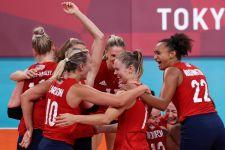 Voli Putri Tokyo 2020: Hancurkan Brasil di Final, AS Ukir Sejarah Olimpiade - JPNN.com