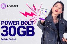 Ada Paket Internet dari Live On untuk WFH, Power Bolt 30GB - JPNN.com