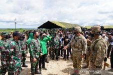 Tinjau Latihan Bersama Garuda Shield, Jenderal Andika Bangga dengan Prajurit TNI AD - JPNN.com