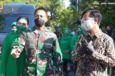 Jenderal Andika Bersama Gibran Memantau Titik Penanganan Pasien Covid-19 di Solo - JPNN.com