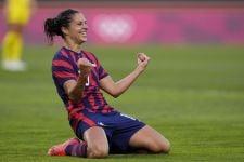 Usai Tampil di Olimpiade Tokyo, Legenda Sepak Bola Putri AS Putuskan Gantung Sepatu - JPNN.com