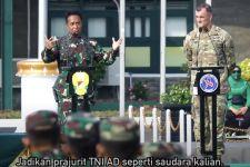 Buka Garuda Shield Bersama Jenderal Andika, General Flynn Puji Kehebatan Prajurit TNI AD - JPNN.com