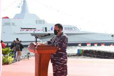 KRI Golok-688 Resmi Memperkuat Kapal Tempur TNI AL, Ini Spesifikasinya - JPNN.com