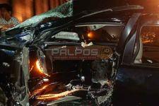 Kecelakaan di Perlintasan KA, Innova Rusat Berat, Pasutri Selamat - JPNN.com