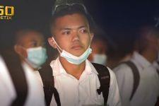 Lulus Seleksi Taruna Akmil, Anak Polisi Bernazar soal Makam Ayah - JPNN.com