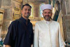 Datangi Hagia Sophia, Raffi Ahmad Bertemu Imam Besar Turki - JPNN.com