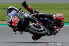 Sempat Pincang, Quartararo Kuasai FP2 MotoGP Inggris - JPNN.com