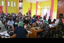 TNI AL Lantamal XIII Gelar Vaksinasi di Perbatasan RI-Malaysia - JPNN.com