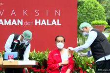 Presiden Jokowi Jalani Suntik Kedua Vaksin Covid-19 - JPNN.com Jatim