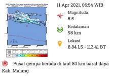 Minggu Pagi, Gempa Goyang Malang Lagi - JPNN.com Jatim