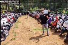 Komunitas Scoopy Bikin Gara-Gara di Tulungagung, Lihat - JPNN.com Jatim