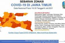 20 dari 38 Kabupaten/Kota di Jatim Zona Merah COVID-19, Lihat Daftarnya - JPNN.com Jatim