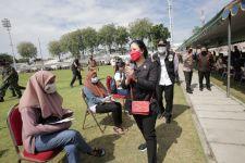 Wejangan Puan Maharani untuk Peserta Vaksinasi Covid-19 di Gelora 10 November - JPNN.com Jatim