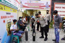 Gratis: Polres Bojonegoro Buka Peminjaman Tabung Oksigen - JPNN.com Jatim