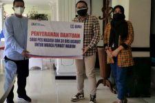 BRI Serahkan Ribuan Masker dan Biskuit ke Pemkot Madiun - JPNN.com Jatim
