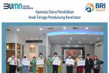 Anak Nakes di Surabaya dapat Beasiswa Pendidikan dari BRI - JPNN.com Jatim