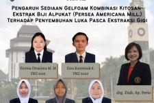 Mahasiswa UB Ciptakan Obat untuk Luka Setelah Cabut Gigi - JPNN.com Jatim