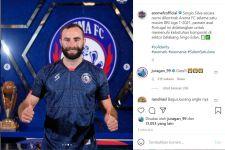 Kedatangan Pemain Asing, Berikut Alasan Pelatih Arema FC Pilih Sergio Silva - JPNN.com Jatim