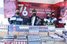 Berawal dari Patroli Siber, Bea Cukai Gerebek Gudang Rokok Ilegal - JPNN.com Jatim