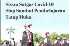 Jelang PTM Terbatas, Pemkot Surabaya Kukuhkan Ribuan Siswa Satgas Covid-19, ini Peran dan Tugasnya - JPNN.com Jatim