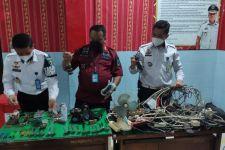 Temukan Sambungan Kabel Ilegal di Lapas Sidoarjo, Petugas: Berpotensi Timbulkan Kebakaran - JPNN.com Jatim