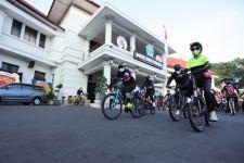 Polemik Rombongan Bersepeda Wali Kota Malang, Sempat Disetop Petugas - JPNN.com Jatim