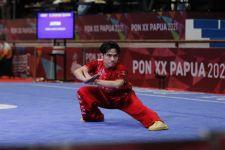 Dua Atletnya Tampil Menawan,Cabor Wushu Tambah Emas Jatim di PON Papua - JPNN.com Jatim