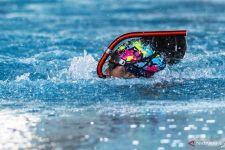 Catatkan Waktu Tercepat, Atlet Selam Jatim ini Pecahkan Rekor PON - JPNN.com Jatim