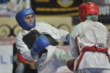 Cedera, Atlet Kempo Jatim Takluk di Laga Final PON Papua - JPNN.com Jatim