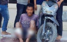 Melawan Petugas, Hasanudin tak Diberi Ampun, Kedua Kakinya Bolong Diterjang Peluru - JPNN.com