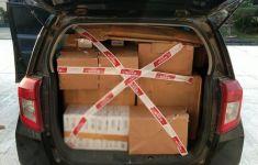 Bea Cukai Jambi Amankan Minibus Pengangkut 156 Ribu Batang Rokok Ilegal - JPNN.com